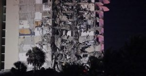Authorities Hunt For Survivors After Partial Building Collapse in Miami